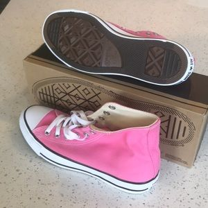 Brand New In Box Pink Converse